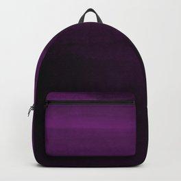 Moody Purple Plum Watercolor Backpack