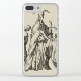 Witches' Sabbath Clear iPhone Case