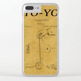 Yo Yo Patent 1 Clear iPhone Case