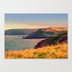Painted Devon Canvas Print
