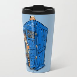 It's B-I-Double g-ER on the Inside Travel Mug