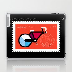 Postcards from Amsterdam / Bicycle Laptop & iPad Skin