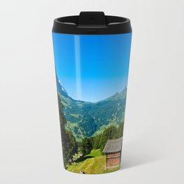 Summer mountain view Travel Mug