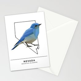 Nevada – Mountain Bluebird Stationery Cards