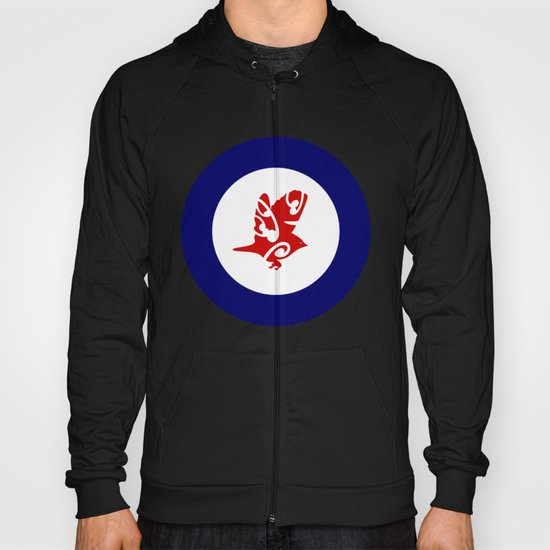 Silvereye Air Force Roundel Hoody