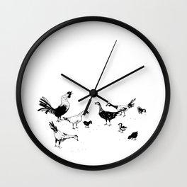 Island Life Series: Alarm Clock Wall Clock