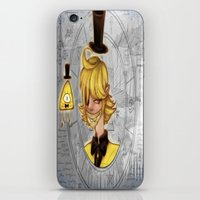 bill cipher iPhone & iPod Skins featuring Bill Cipher by InsianCat