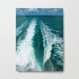 Wake of the Spirit- Hervey Bay QLD Metal Print
