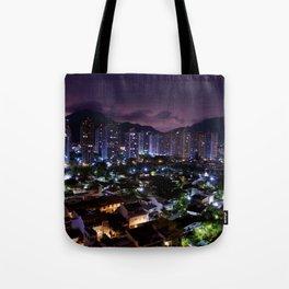 Purple Rio Tote Bag