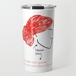 History's Women: Virgina Woolf Travel Mug