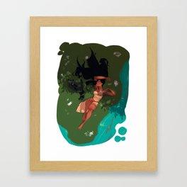 Lazy Noons Framed Art Print