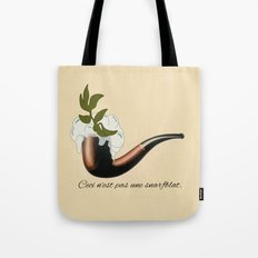 The Treachery of Seagulls Tote Bag