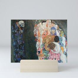 Gustav Klimt Death and Life Mini Art Print