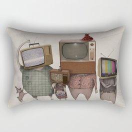 my family and I Rectangular Pillow