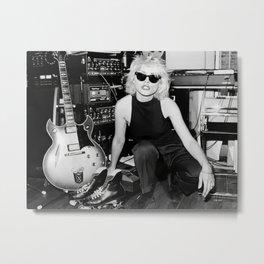 Blondie Poster,Debbie Harry Photograph,Vintage Photo,Rock Music Legends,Housewarming Gift,Home Decor,Photos and Prints,Music Art Metal Print
