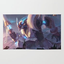 Lancer Stratus Wukong League Of Legends Rug