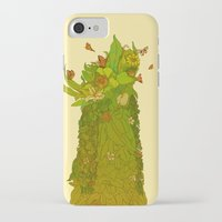 botanical iPhone & iPod Cases featuring Botanical by Carol Martins