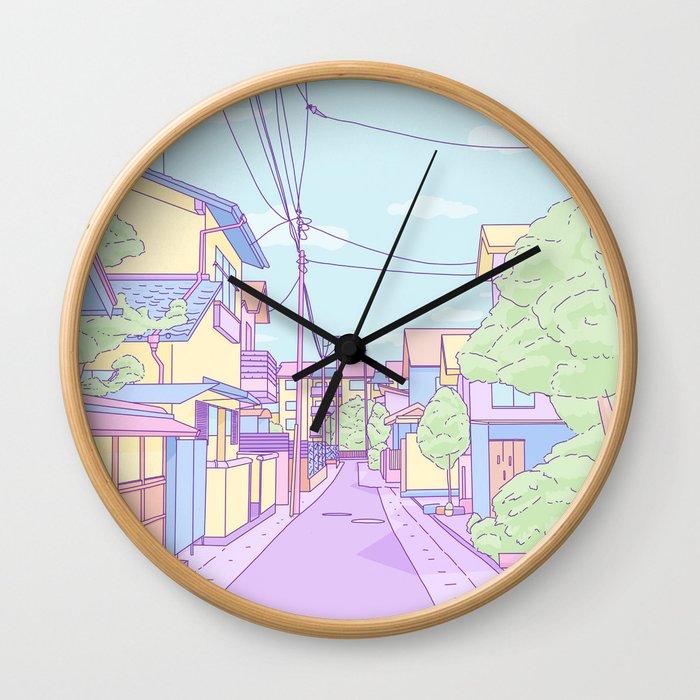 Lost in Japan Wall Clock