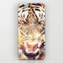 Feline Fire iPhone Skin