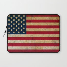 Vintage American Flag Laptop Sleeve