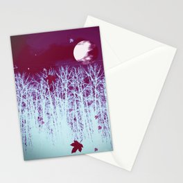 Eerie Moon Stationery Cards