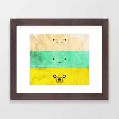 Adventurers Framed Art Print