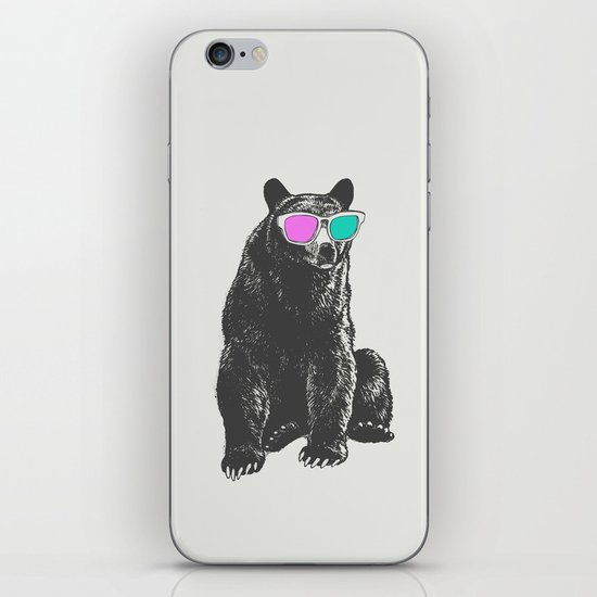3D is Un-bear-able  iPhone & iPod Skin