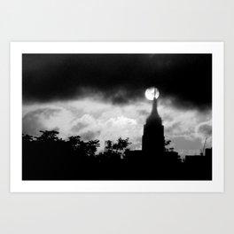 Eerie NYC Art Print