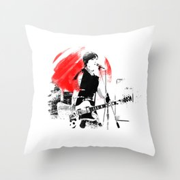 Japanese Artist Throw Pillow