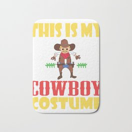 Cowboy fanatics and cowboy lovers, here is a western and creative tee for you! Claim your howdy now! Bath Mat