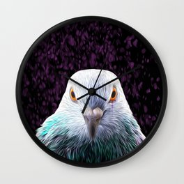 When Doves Cry Wall Clock