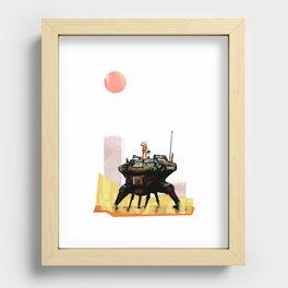 HayBot Recessed Framed Print