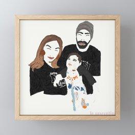 Angel Framed Mini Art Print