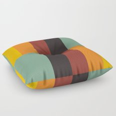 Stripes and swatches Floor Pillow