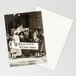 Suffrage Envoy Photograph (1915) Stationery Cards