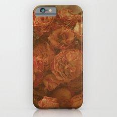 Old Orange Roses iPhone 6s Slim Case