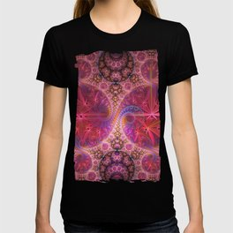 Decorative artwork with amazing curls, swirls and patterns T-shirt