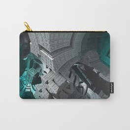 Fractaled Carry-All Pouch