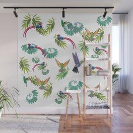 Birds Heaven Wall Mural