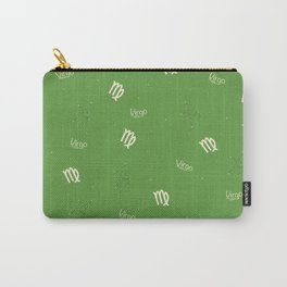 Virgo Pattern - Green Carry-All Pouch