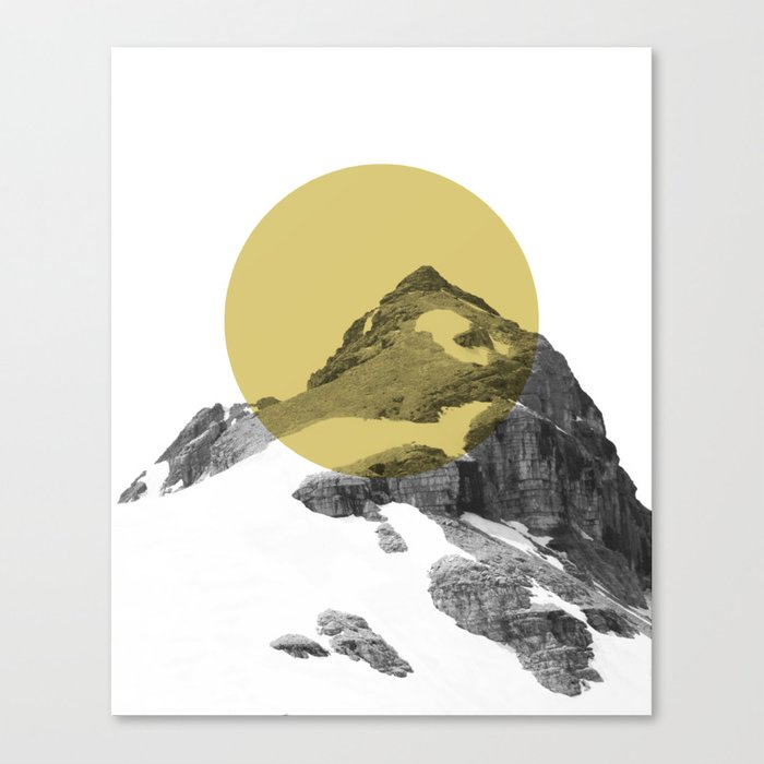 GULD MÅL Canvas Print