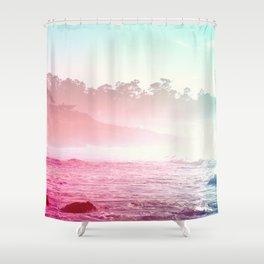 Summer on the Coast Shower Curtain