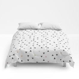 DOWN UP / scandi white / warm grey / flax / lavender Comforters