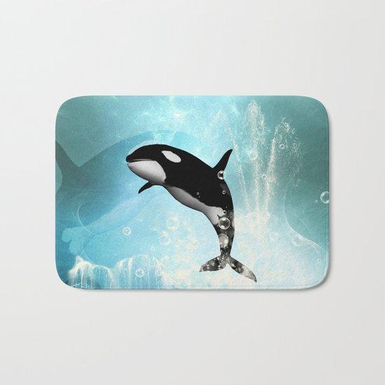 The orca Bath Mat