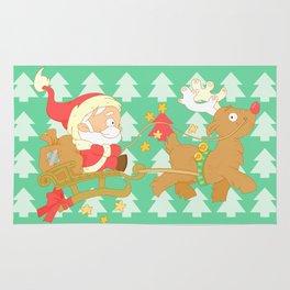 Santa 2014 Rug