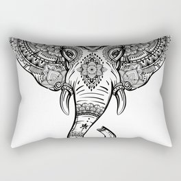 Boho Elephant Rectangular Pillow