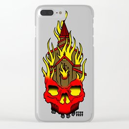 Unholy Roller Clear iPhone Case