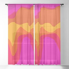 SHIFTY Sheer Curtain