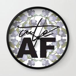 Cute AF Wall Clock