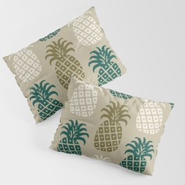 Retro Mid Century Modern Pineapple Pattern 87 Pillow Sham